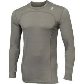 Aclima M's LightWool Crew Neck Shirt Ranger Green